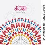 beautiful happy diwali festival ...