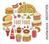 vector sketch illustration of...   Shutterstock .eps vector #682147456