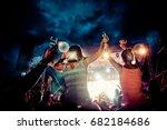 rimetea  torocko   romania  ... | Shutterstock . vector #682184686