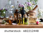 Selection of essential oils ...