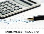 analysis of stock market...   Shutterstock . vector #68222470