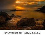 porto sanot  unlike mountainous ...   Shutterstock . vector #682252162
