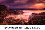 porto sanot  unlike mountainous ...   Shutterstock . vector #682252192