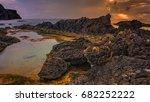 porto sanot  unlike mountainous ...   Shutterstock . vector #682252222