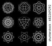 geometric pattern symbols...