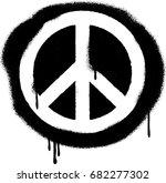 Spray Paint Graffiti Peace...