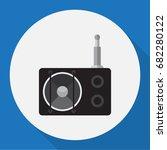 vector illustration of tech... | Shutterstock .eps vector #682280122