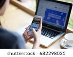 bangkok. thailand   july 20 ... | Shutterstock . vector #682298035