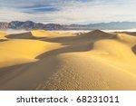 sand dunes  death valley | Shutterstock . vector #68231011