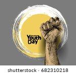international youth day 12...   Shutterstock .eps vector #682310218