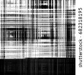 grunge abstract black and white ... | Shutterstock . vector #682318195