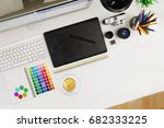 creative professional designer... | Shutterstock . vector #682333225