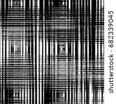 grunge abstract black and white ... | Shutterstock . vector #682339045
