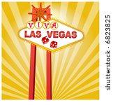 viva las vegas | Shutterstock .eps vector #6823825