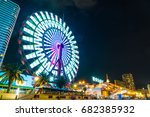 kobe  japan   nov 20  2016  ... | Shutterstock . vector #682385932