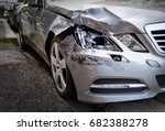 accident car | Shutterstock . vector #682388278