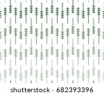 scandinavian geometric pattern... | Shutterstock .eps vector #682393396