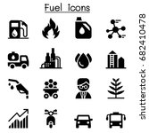 fuel   energy   power icons | Shutterstock .eps vector #682410478