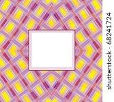 greeting rectangular card on... | Shutterstock .eps vector #68241724