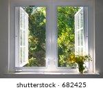 Sun Splushed Window