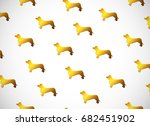 Horizontal Card. Pattern With...