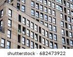 a new modern residential... | Shutterstock . vector #682473922