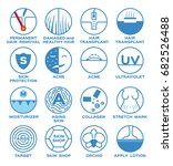 health and skin icon vector  ... | Shutterstock .eps vector #682526488