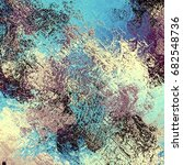abstract grunge texture.... | Shutterstock . vector #682548736