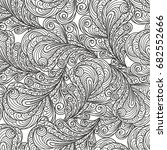 seamless abstract pattern with... | Shutterstock .eps vector #682552666