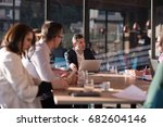 group of business people...   Shutterstock . vector #682604146