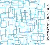 seamless pattern of overlapping ...   Shutterstock .eps vector #682662076