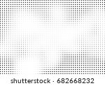 abstract halftone dotted... | Shutterstock .eps vector #682668232