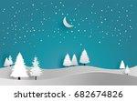 Vector Illustration Of Snow....