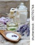 natural ingredients for... | Shutterstock . vector #682701766