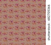 seamless pattern witn marine...