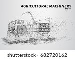 agricultural machinery from... | Shutterstock .eps vector #682720162