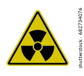 triangle radiation sign