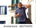 portrait of handsome young...   Shutterstock . vector #682754392