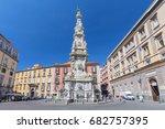 obelisk guglia of the... | Shutterstock . vector #682757395