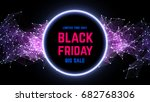 black friday sale abstract... | Shutterstock .eps vector #682768306