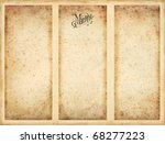 menu background | Shutterstock . vector #68277223