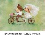 Painting Wedding Hedgehogs On...