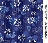 irregular form pattern | Shutterstock .eps vector #682848706