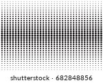 abstract black and white... | Shutterstock .eps vector #682848856