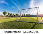 the goal of the campus | Shutterstock . vector #682852246