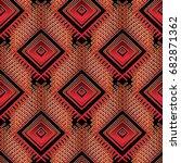 tribal ethnic seamless pattern. ... | Shutterstock .eps vector #682871362