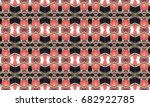 colorful seamless pattern for... | Shutterstock . vector #682922785
