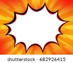 explosion steam bubble pop art... | Shutterstock .eps vector #682926415
