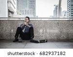 failure businessman | Shutterstock . vector #682937182