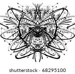 space planet illustration | Shutterstock . vector #68295100